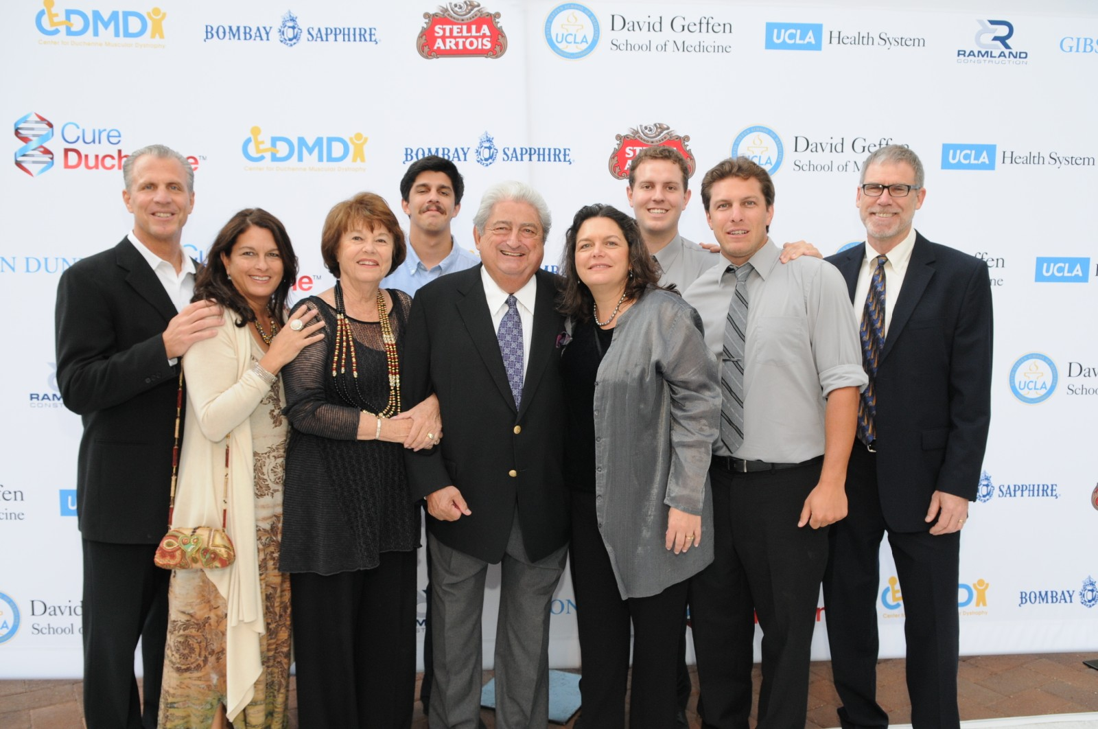 CDMD's Dr. Miceli surrounded by family